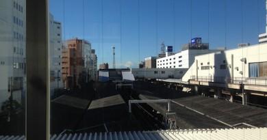 藤沢駅から見た富士山