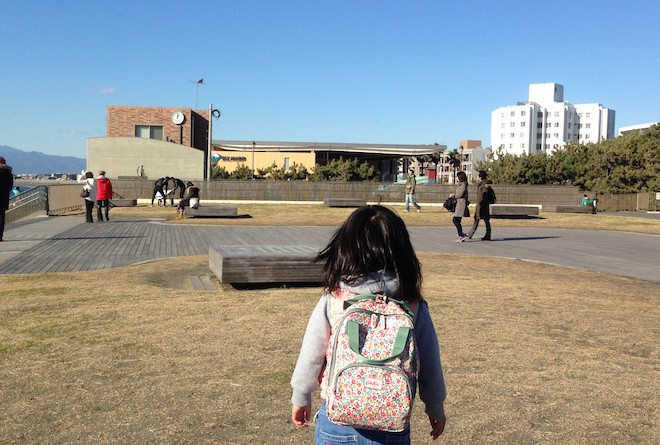 娘と新江ノ島水族館