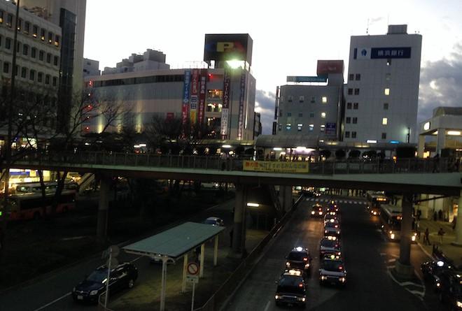 藤沢駅南口風景