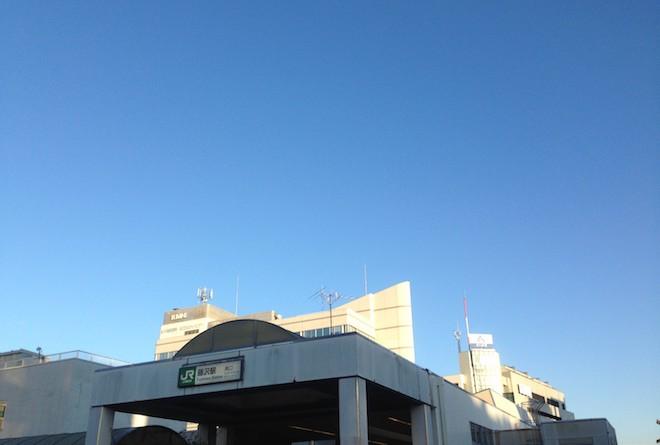 藤沢駅南口からの青空