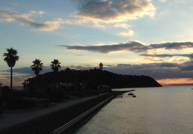 夕方の江ノ島